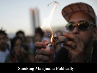 Smoking Marijuana in Public