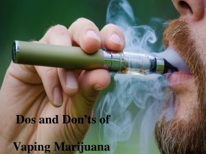 vaping marijuana